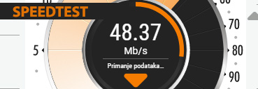 Brzina Interneta - Speedtest